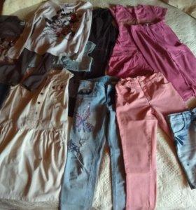 Одежда для девочки на 10-12 лет