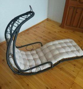 Подвесное кресло, кресло шезлонг