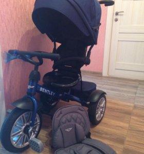 Велосипед детский Bentley BN 3 колесный с ручкой