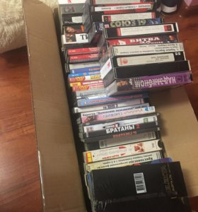 Касеты для видеомагнитофона ,DVD касеты