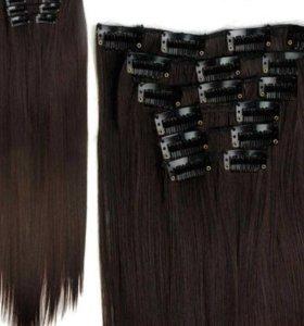 Волос на заколках (трессы)