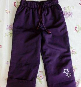 Утеплённые штанишки в отличном состоянии