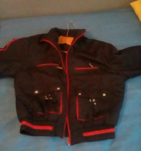 Куртка пилотка унисекс