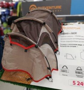 Палатка Outventure Camper 4 Basic 4-х местная.