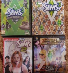 Любимые игры The Sims 2, The Sims 3
