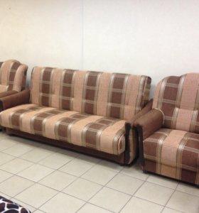 1082 Диван Уют + 2 кресла от производителя.