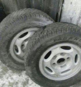 Продам колёса