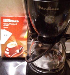 Кофеварка+фильтры для кофе