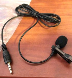 Петличный микрофон для смартфона