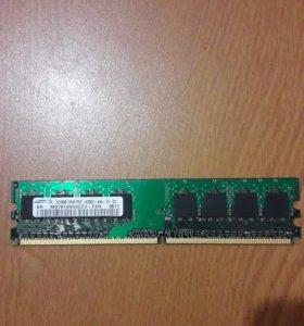 Оперативная память Samsung 512MB DDR2