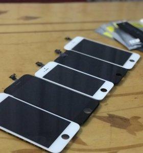 Экраны (touchscreen, модули) на айфон (iPhone)