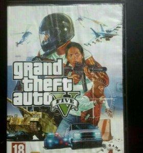 Диски(4) с 1 игрой GTA 5