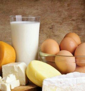 Натуральные деревенские молочные продукты