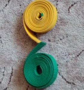Пояс (зеленый и желтый)