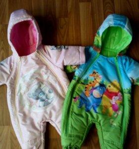 Комбинезоны для малышей