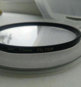 UV фильтр для объектива 77 мм.
