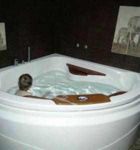 Ванная, джакузи.