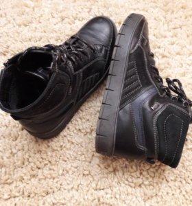 Удобные ботинки для мальчика разм 38