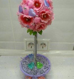 Топиарий ( дерево счастья )