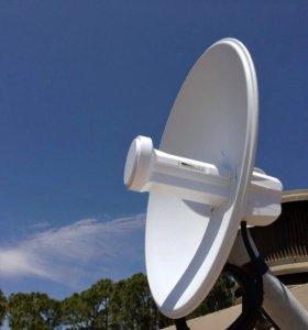 Интернет тарелка в частный дом