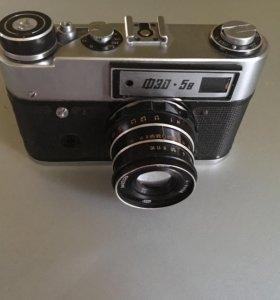 Фотоаппарат ФЕД 5 в ссср