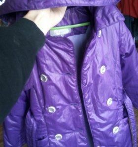 Детское пальто рост 122