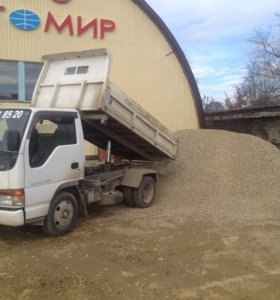 Доставка стройматериалов щебень песок отсев цемент