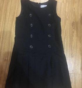 Сарафан чёрный новый 140 размер