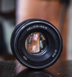 HELIOS-44М 58/2+адаптер Canon EOS