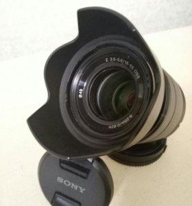 Sony SEL1855 18-55 OSS Black