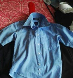 Рубашки лето, короткий рукав