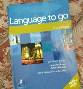 Учебник английского Language to go