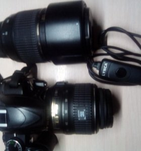 Фотоаппарат Nikon D3100 + Tamron 70-300,Nik.18-55
