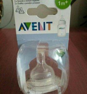 Соска для бутылочки Авент