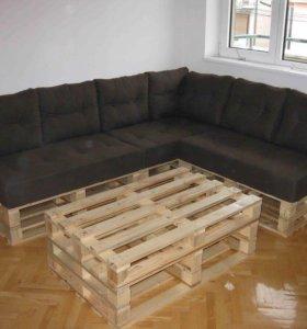 Мебель из паллет (поддонов)