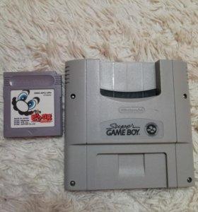Nintendo Super Game Boy для snes Super Famicom