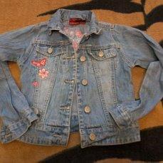Джинсовая куртка на девочку р.30 р.105-110