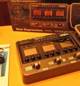 Гитарный процессор Zoom G3X