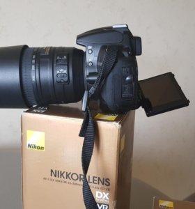 Зерк. Nikon D5000 + 2 объектива