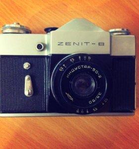 Фотоаппарат Зенит-В с чехлом СССР