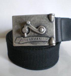 Armani ремень с пряжкой