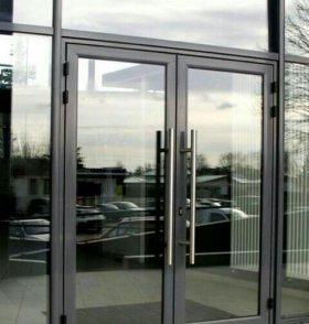 Пластиковые и Алюминиевые двери.