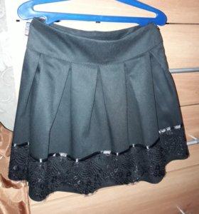 юбка для девочки на 5-6 лет