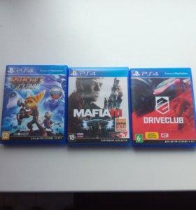 Диски на PS4 обмен продажа