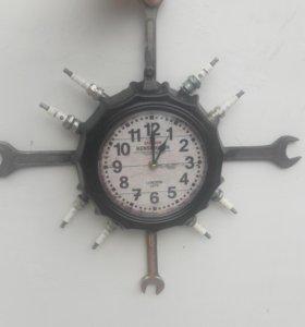 Часы в гараж
