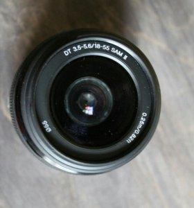 Объектив Sony DT 18-55 mm f/3.5-5.6 SAM II