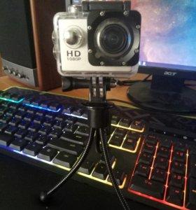 Экшн-камера 1080p