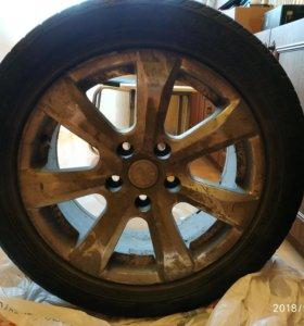 колеса 205/55 R16, диски литые