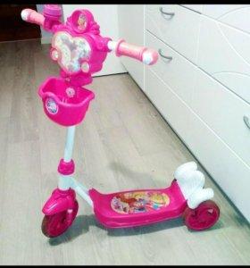 Самокат Winx для девочек