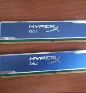 Оперативка HyperX blu
